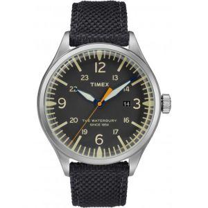 Timex TW2R38500D7 - Montre pour homme avec bracelet en tissu
