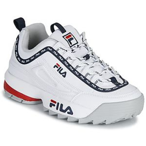 FILA Baskets basses DISRUPTOR LOGO LOW WMN blanc - Taille 36,37,38,39,40,41