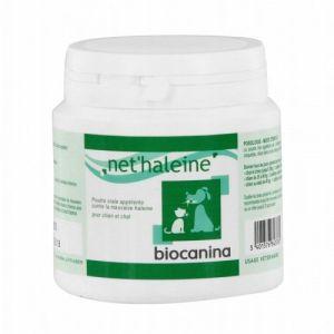 Biocanina Net'haleine - Poudre orale appétente contre la mauvaise haleine pour chien et chat