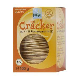 Pural Cracker Parmesan 14 % bio 100g