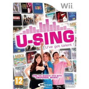 U-Sing - Jeu seul [Wii]