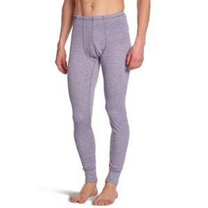Odlo Vêtements intérieurs Pantalons Warm - Grey Melange - Taille XXL