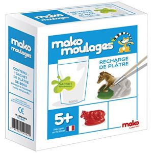 Mako moulages Recharge de plâtre 800 g