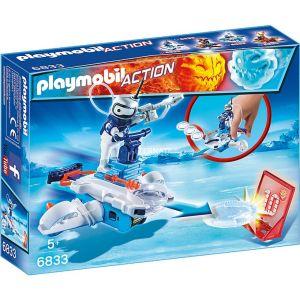 Playmobil 6833 Action - Androide de glace avec lance-disques
