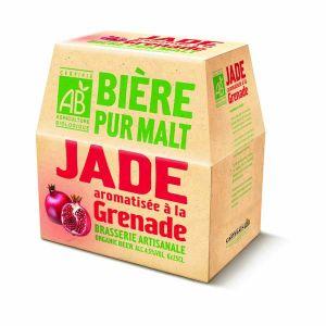 JADE Bière aromatisée à la Grenade 6x25cl