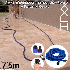 Innova Goods InnovaGoods Tuyau d'arrosage extensible 7,5 m