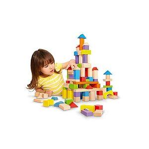 Universe of Imagination Baril 150 cubes en bois