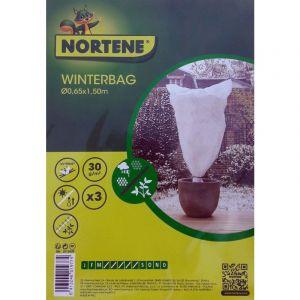 Nortene Voile hivernage Winterbag - 65x100x150 cm - lot de 3