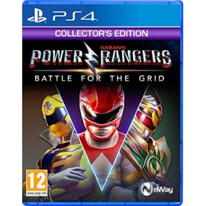 Power Rangers Battle for the Grid Collector's Edition (PS4) [PS4]
