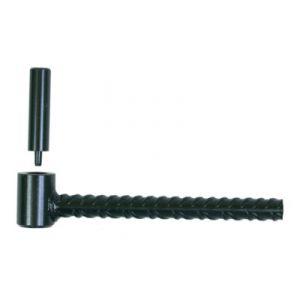 ING Fixations A001170 - Gond portail parpaing longueur 200 mm Ø 20 mm