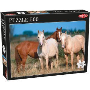 Tactic Puzzle Chevaux 500 pièces