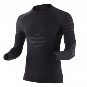 X-Bionic I020270 T-Shirt à Manches Longues Homme Noir/Anthracite FR : L (Taille Fabricant : L)
