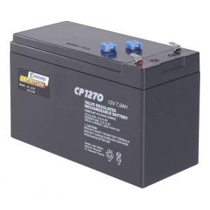 Batterie au plomb 12 V 7 Ah Conrad energy CE12V/7Ah plomb (AGM) (l x h x p) 151 x 95 x 65 mm connecteur plat 4,8 mm sans entretien