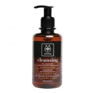 Apivita Cleansing - Gel nettoyant peaux grasses/mixtes