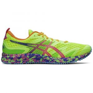 Asics Chaussures running Gel Noosa Tri 12 - Safety Yellow / Hot Pink - Taille EU 41 1/2