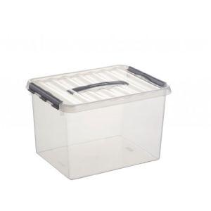 Sunware Boîte à roulette en plastique avec couvercle (22 L)