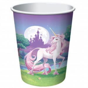 8 gobelets Licorne magique