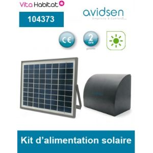 Avidsen 104373 - Kit d'alimentation solaire