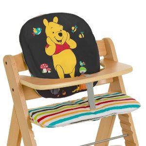 Hauck Coussin Pooh Tidy Time pour chaise haute Alpha