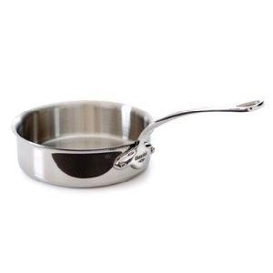 Mauviel1830 5211.24 - Sauteuse Cookstyle en inox 24 cm