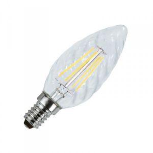 Vision-El Ampoule LED E14 filament torsadée 4W 2700°K - MIIDEX