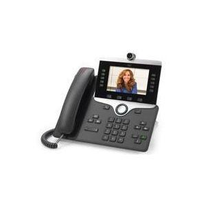 Cisco IP Phone 8845 - visiophone IP - appareil photo numerique, interface Bluetooth