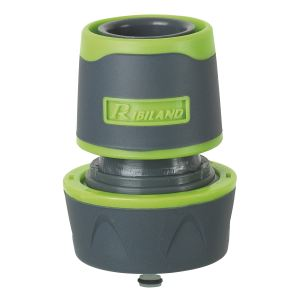 Ribiland PRA/RV.9218 - Raccord rapide bi-matière acquastop pour tuyau 19mm