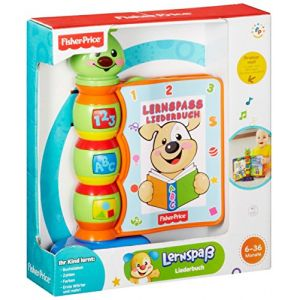 Fisher-Price H8167 - Livre interactif comptines langue allemande