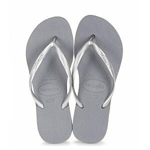 Havaianas Slim - Tongs - Femme - Gris (Steel Grey 5178) - 37/38 EU (35/36 Brazilian)