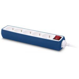 EssentielB Multiprise Silicone Bleu 5 Prises - 16A