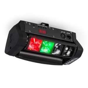 Ibiza Light Jeux de lumiere Spider Led 8 mini