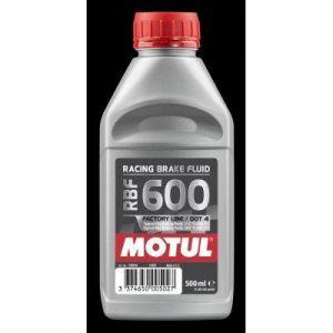 Motul Bidon DE 0,5 l de Liquide de Frein RBF 600 Racing
