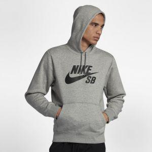 Nike Sweat à capuche SB Icon pour Homme - Gris Gris - Taille M
