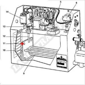 Procopi 1881011 - Vis de résistance de générateur de vapeur MR Steam MS et CU (les 4)