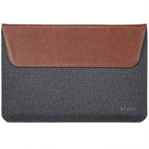 Maroo MR-MS3307 - Housse Woodland en cuir et laine pour Microsoft Surface Pro 3