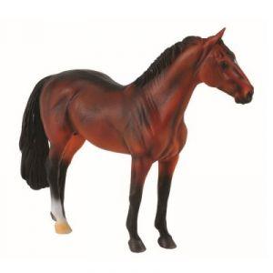 Collecta 88431 - Figurine cheval Etalon Hanoverian Baie