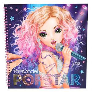 Kontiki Top Model Album coloriage Popstar (version 2016)