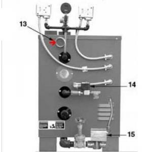 """Procopi 1891009 - Tube NPT 1/4"""" 180 degrés de générateur de vapeur MR Steam CU"""