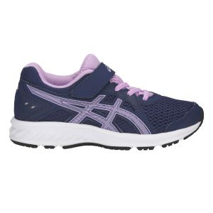 Asics Chaussures de trail Jolt 2 PS Bleu / Rose - Taille 28,5