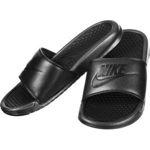 6ccc9e8d766b4 Nike Benassi Jdi Metallic Qs W tong metallic black 39,0 EU