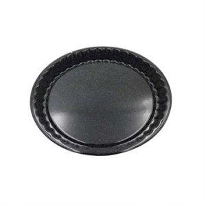 Kochstar Moule à tarte acier émaillé anti-adhérent - 30 cm