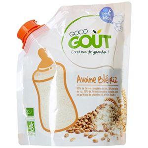 Good Goût Céréales en poudre : Avoine Blé Riz 200 g - dès 6 mois