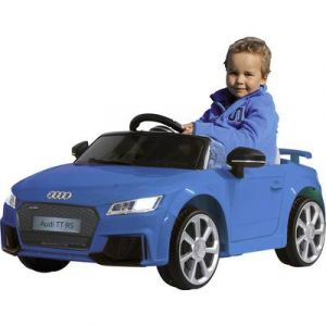Jamara Véhicule enfant Ride-on Audi TT RS bleu 12 V