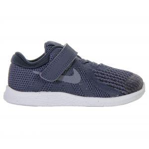 Nike Chaussure Revolution 4 pour Jeune enfant - Bleu - Taille 35.5 - Unisex
