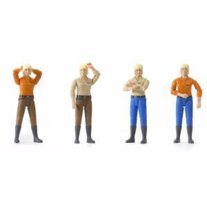 Bruder Toys 60401 - Femme blonde avec bottes