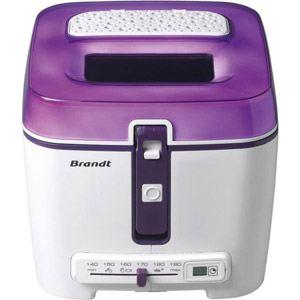 Brandt FRI-2500E - Friteuse électrique 1,2 kg