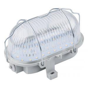 AS - Schwabe Lampe LED de lampe ovale pour extérieur, Atelier, 7 W, gris, 56750 - AS SCHWABE