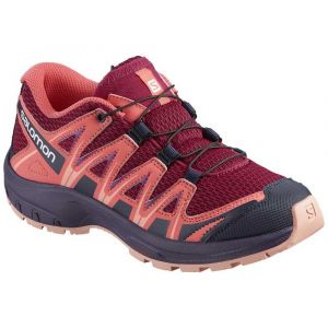 Salomon Chaussures Xa Pro 3d Junior - Cerise / Dubarry / Peach Amber - Taille EU 35