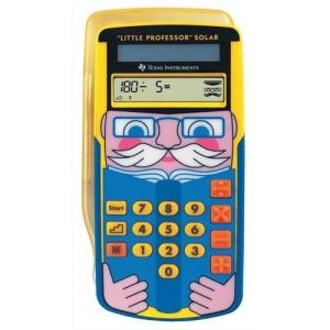 Texas instruments Little Professor Solar - Calculatrice de poche solaire pour enfant