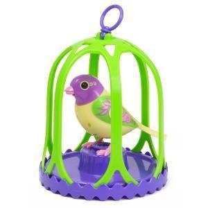 Silverlit Digibirds Oiseau avec cage (modèle aléatoire)